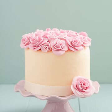 Cake with sugar roses by ECoelfen