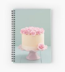 Cake with sugar roses Spiral Notebook