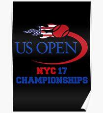 US OPEN Tennis 2017 Poster