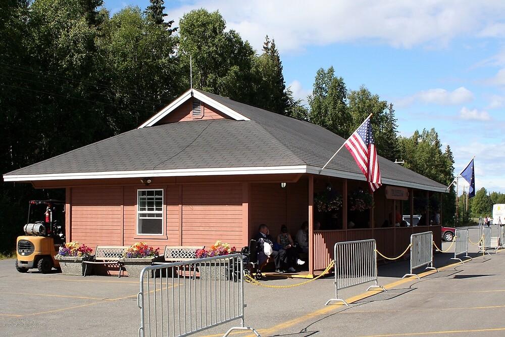 Talkeetna Railway Station, Alaska by FranWest