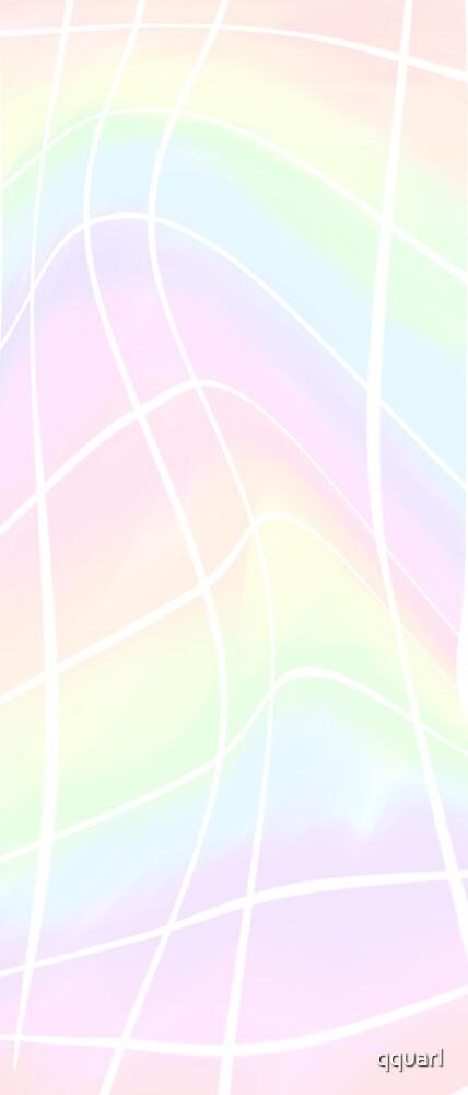 Rainbow aesthetic grid by qquarl
