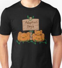 Adopt a pumpkin kitty day T-Shirt