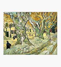 Van Gogh, The Road Menders, 1889  Photographic Print
