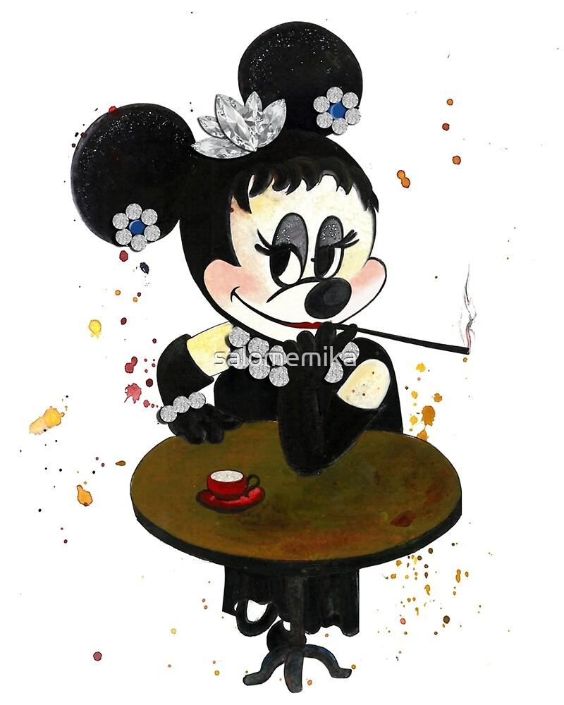 Audrey Hepburn by salomemika