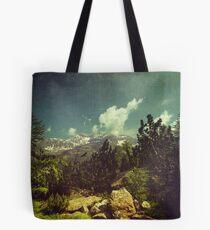 Italian Mountains Tote Bag