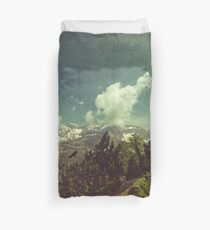 Italian Mountains Duvet Cover