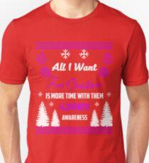 Support Alzheimer's Awareness Design Unisex T-Shirt