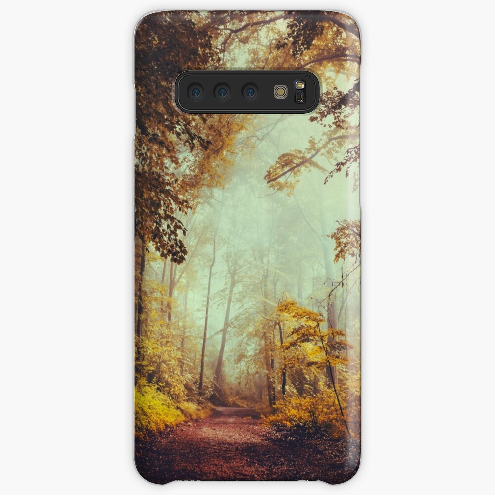 silent forest Case & Skin for Samsung Galaxy