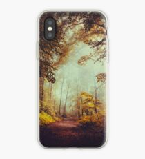 silent forest iPhone Case