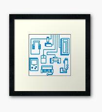 Video Gaming Framed Print