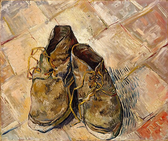 Shoes Vincent Van Gogh 1888  by fineearth