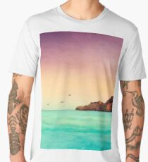Glowing Mediterran Men's Premium T-Shirt