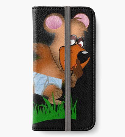 Shh.. Bear Has News! (Playing Dress UP)   (5935  Views ) iPhone Wallet