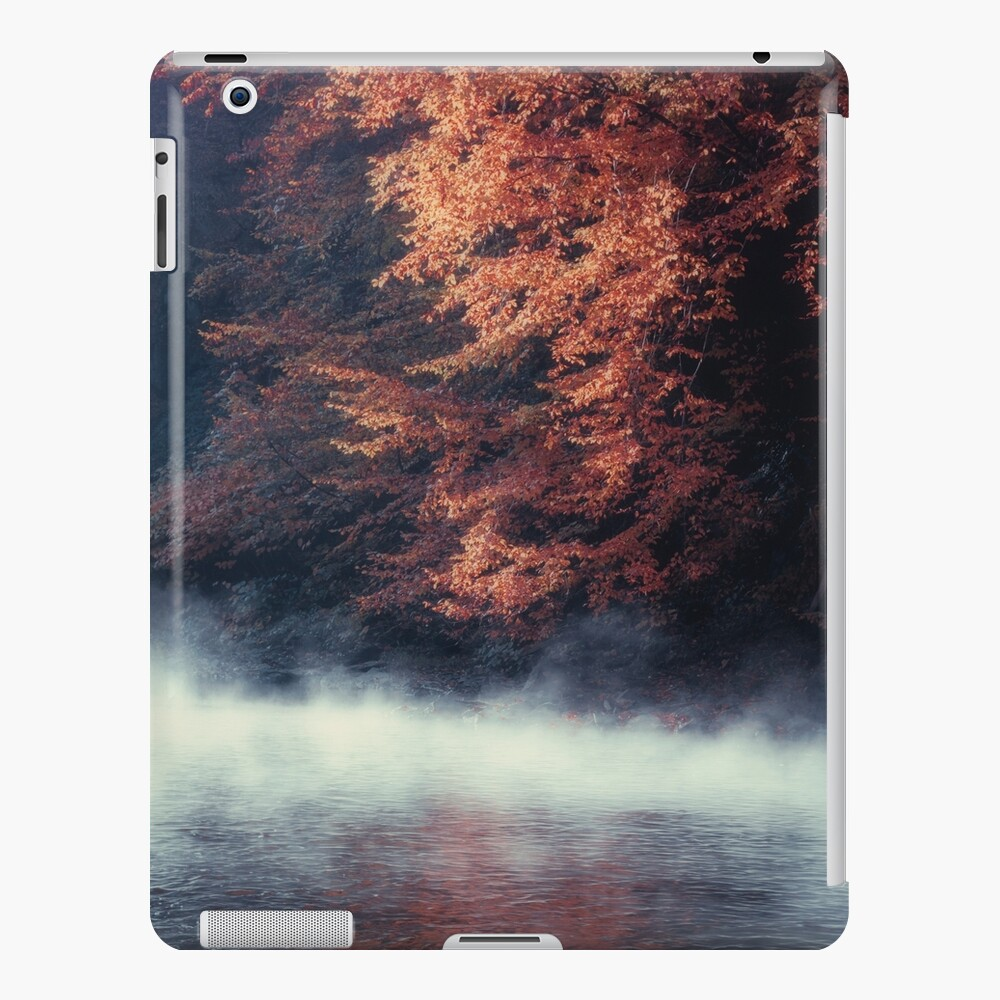 Nature*s Mirror - Fall at the River iPad Case & Skin
