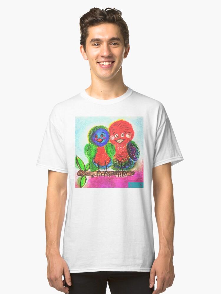 A Birds Best Friend Classic T-Shirt Front
