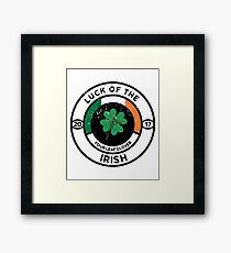 Luck Of The Irish - Four Leaf Clover Framed Print