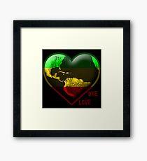 One Heart Framed Print