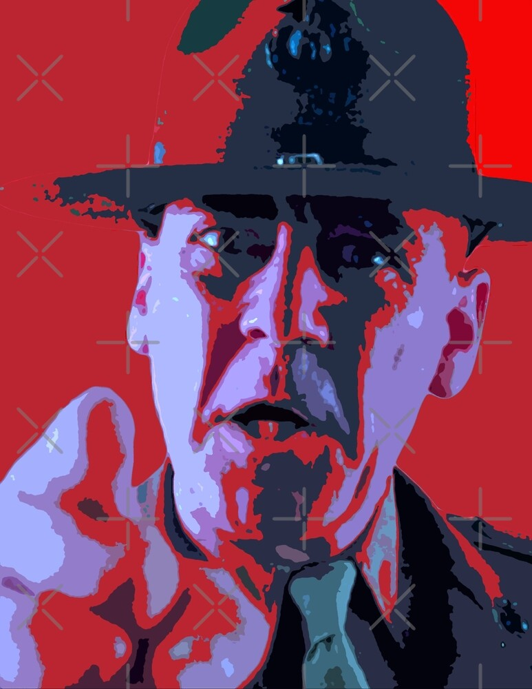 Drill sergeant - full metal jacket by oryan80