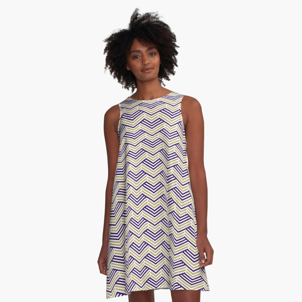 Longbow Tiger Gameday Dress A-Line Dress Front