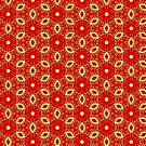 Christmas pattern 1 by Silvia Ganora
