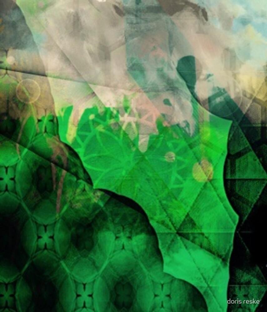green mandala by doris reske