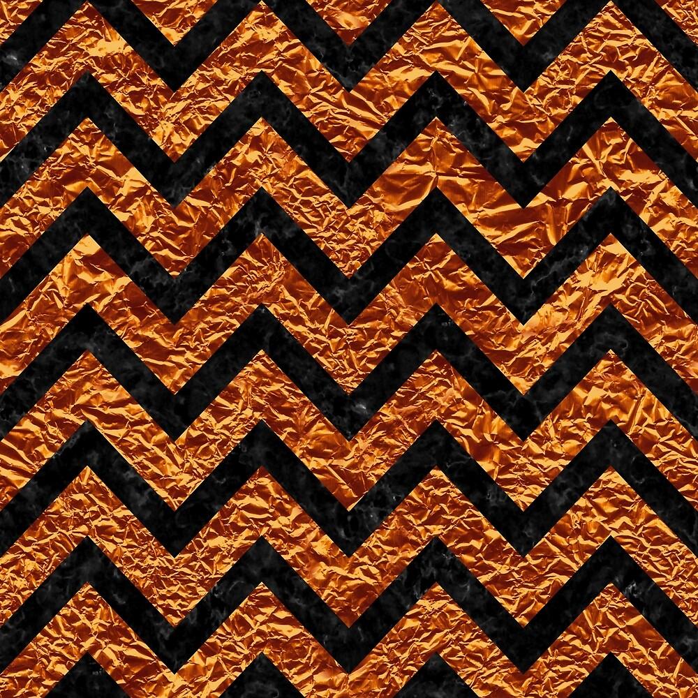 CHEVRON9 BLACK MARBLE & COPPER FOIL (R) by johnhunternance