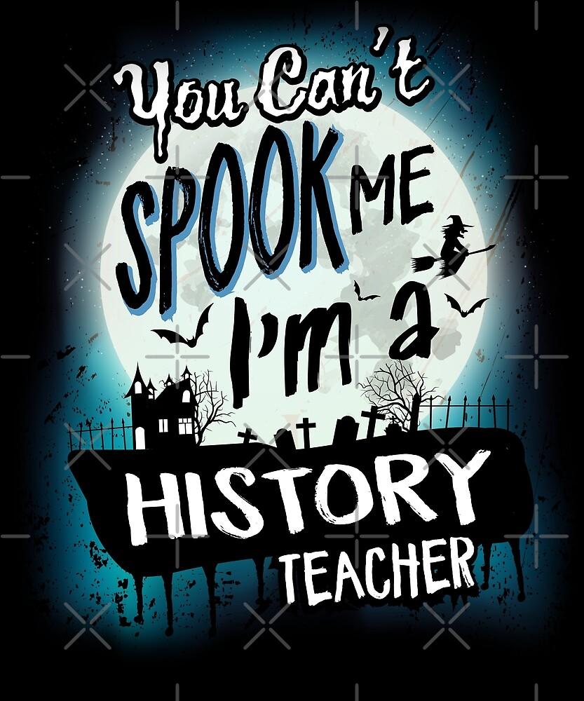 Halloween History Teacher Costume Funny Sarcastic by JapaneseInkArt