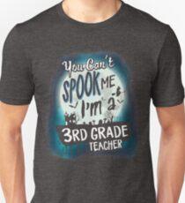 Halloween 3rd Grade Teacher Costume Funny Sarcastic T-Shirt