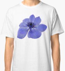 Blue Anemone Flower Classic T-Shirt