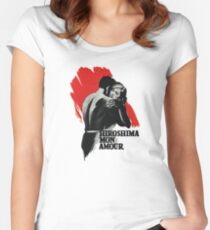 Hiroshima mon amour Women's Fitted Scoop T-Shirt