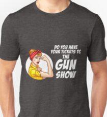 Vintage Gun Show Funny Workout Retro Gym T-Shirt T-Shirt