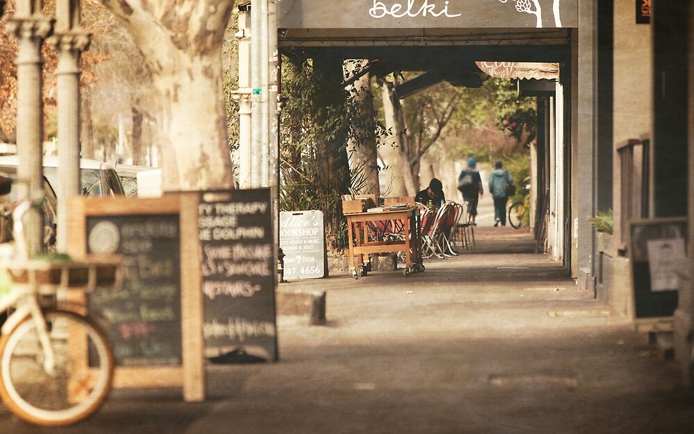 Postcard from Carlton by melbournedesign
