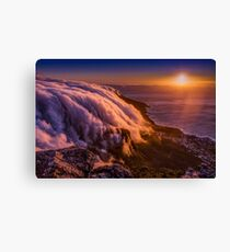 Sunset from Table Mountain Canvas Print