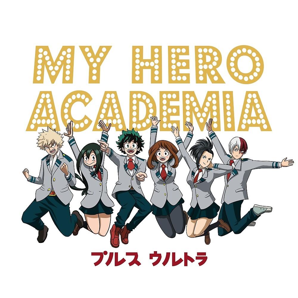 My High School Hero Academia by MatteoSantos