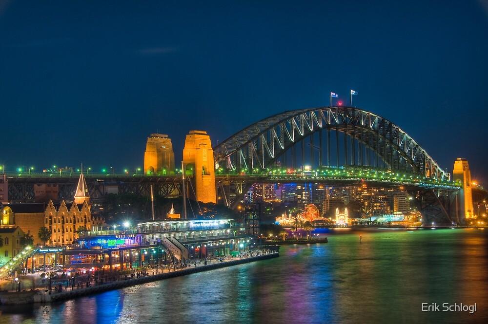Sydney Harbour Bridge by Erik Schlogl