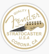 Fender Quality Since 1946 Sticker