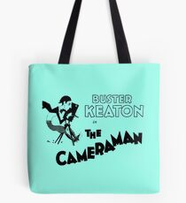 The cameraman Tote Bag