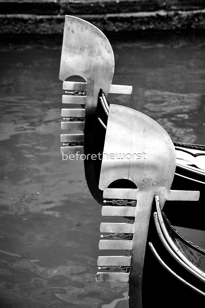 Venezia - Gondole by beforetheworst