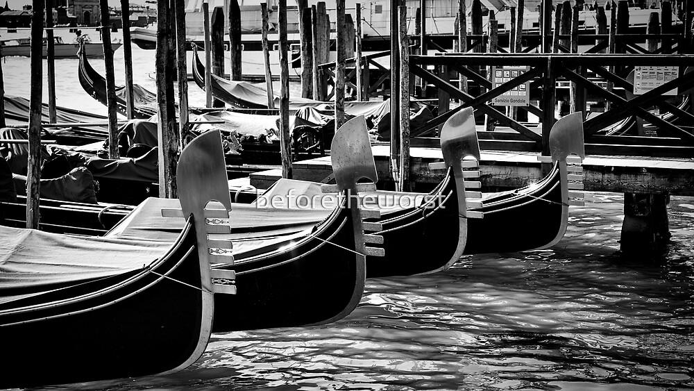 Venezia - Gondole 2 by beforetheworst