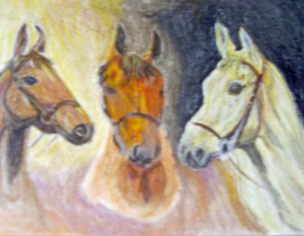 Three Champions by GEORGE SANDERSON