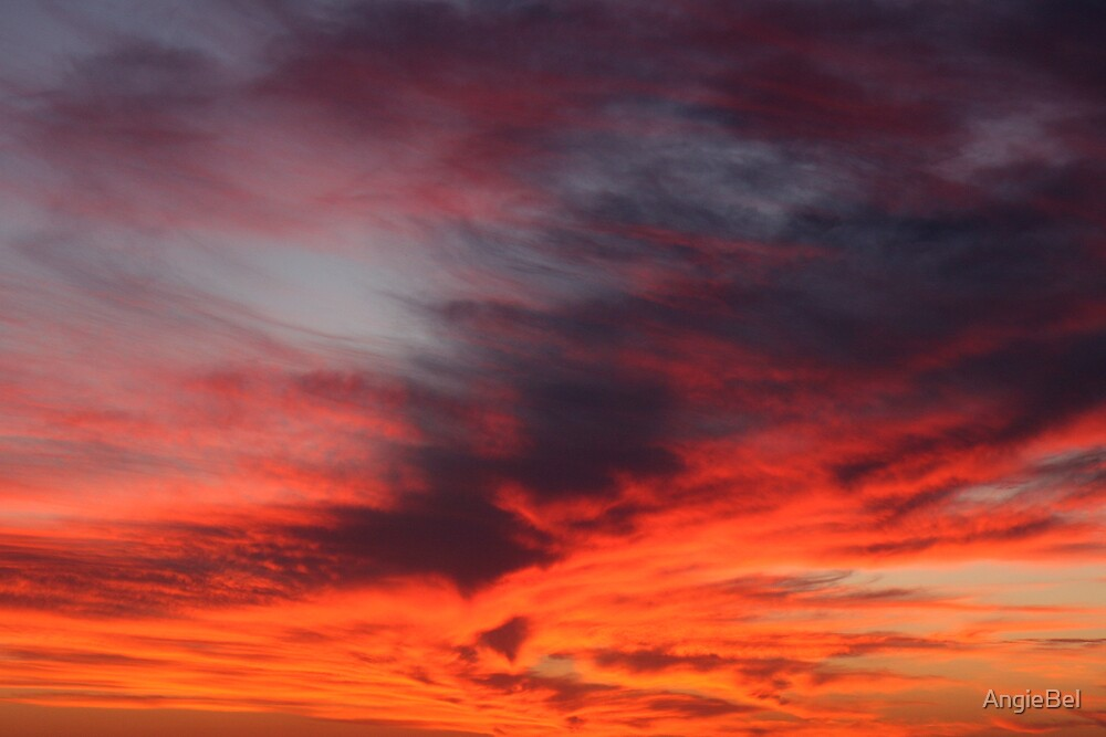 Sunset Sky - Glenelg by AngieBel