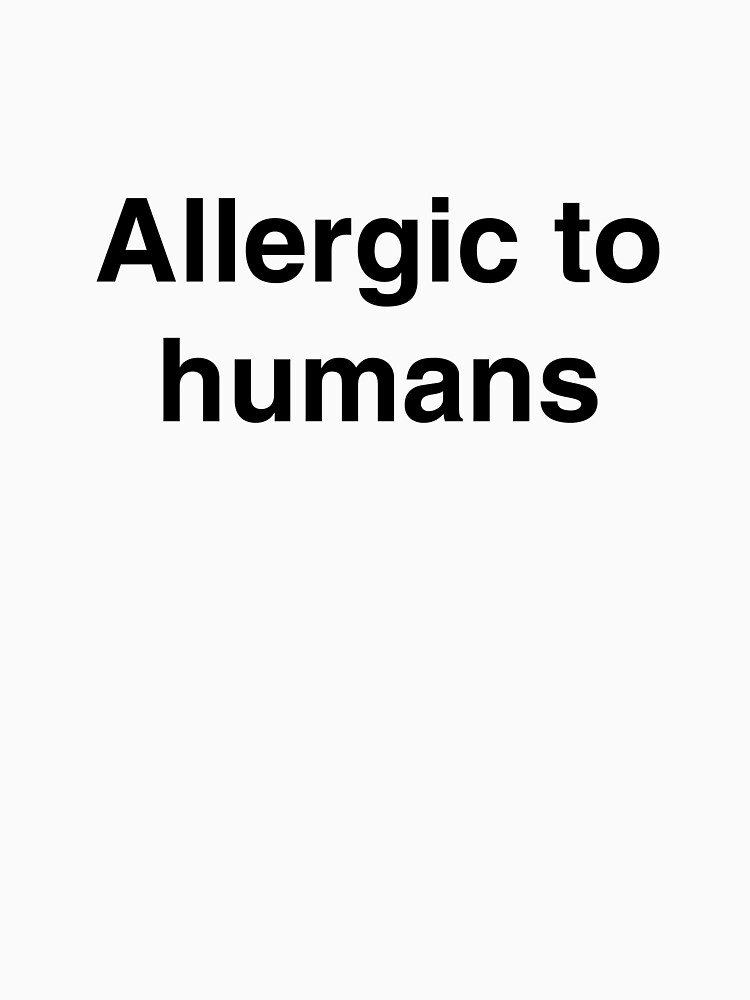 Allergic humans by Thespoon