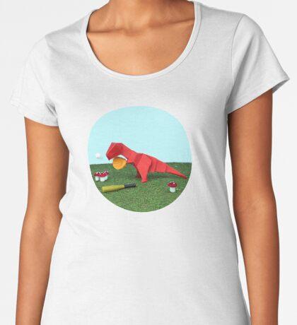 Ja T-Rex kann! Frauen Premium T-Shirts