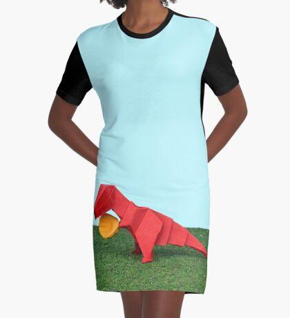 Ja T-Rex kann! T-Shirt Kleid