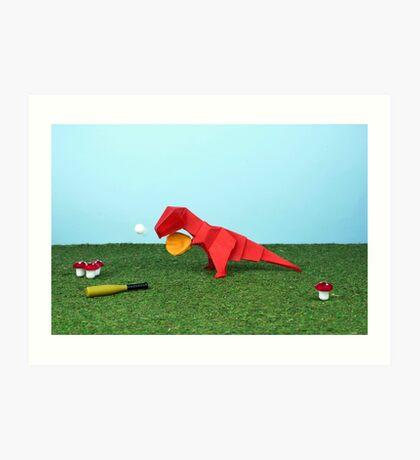 Ja T-Rex kann! Kunstdruck