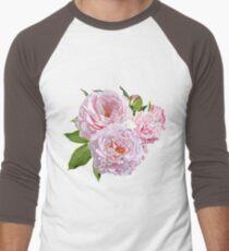 Vector Pink Peonies T-Shirt