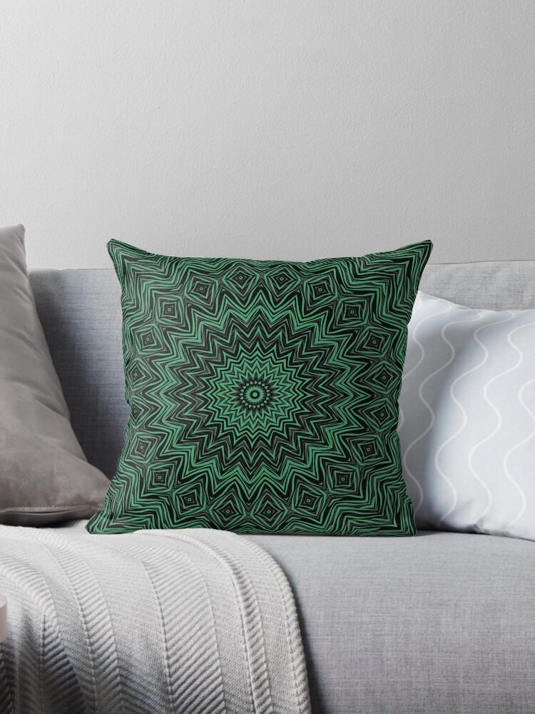 Black and green kaleidoscope  by fuzzyfox