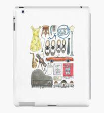 La La Land Illustration Jazz Saxophone Music Musical  iPad Case/Skin