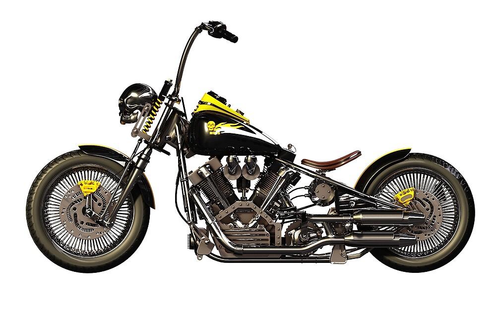 Moto Chopper by Marc  Mons