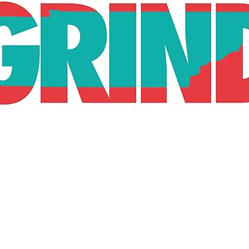 Grind State (Red/Teal) by Pelicaine